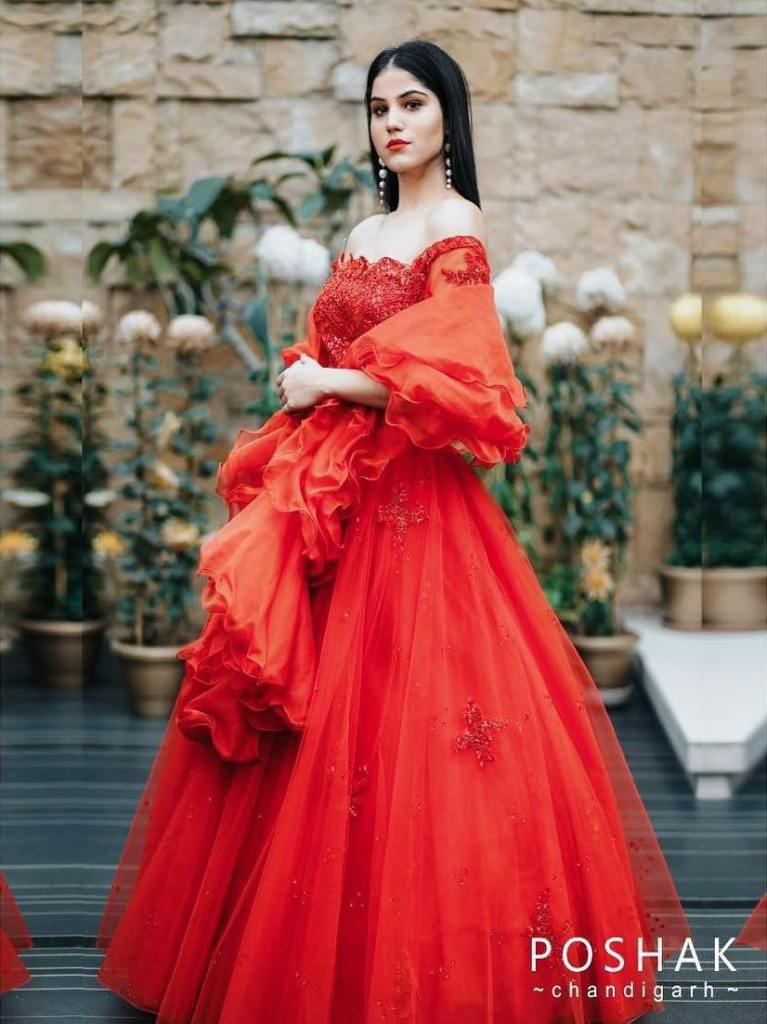 Red Wedding lehenga