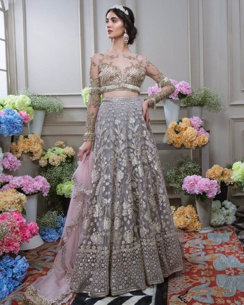 Falguni Shane Peacock Reception Lehengas
