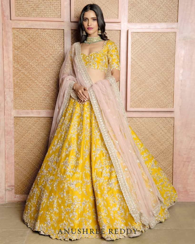 Anushree Reddy 2019 Bridal Lehengas