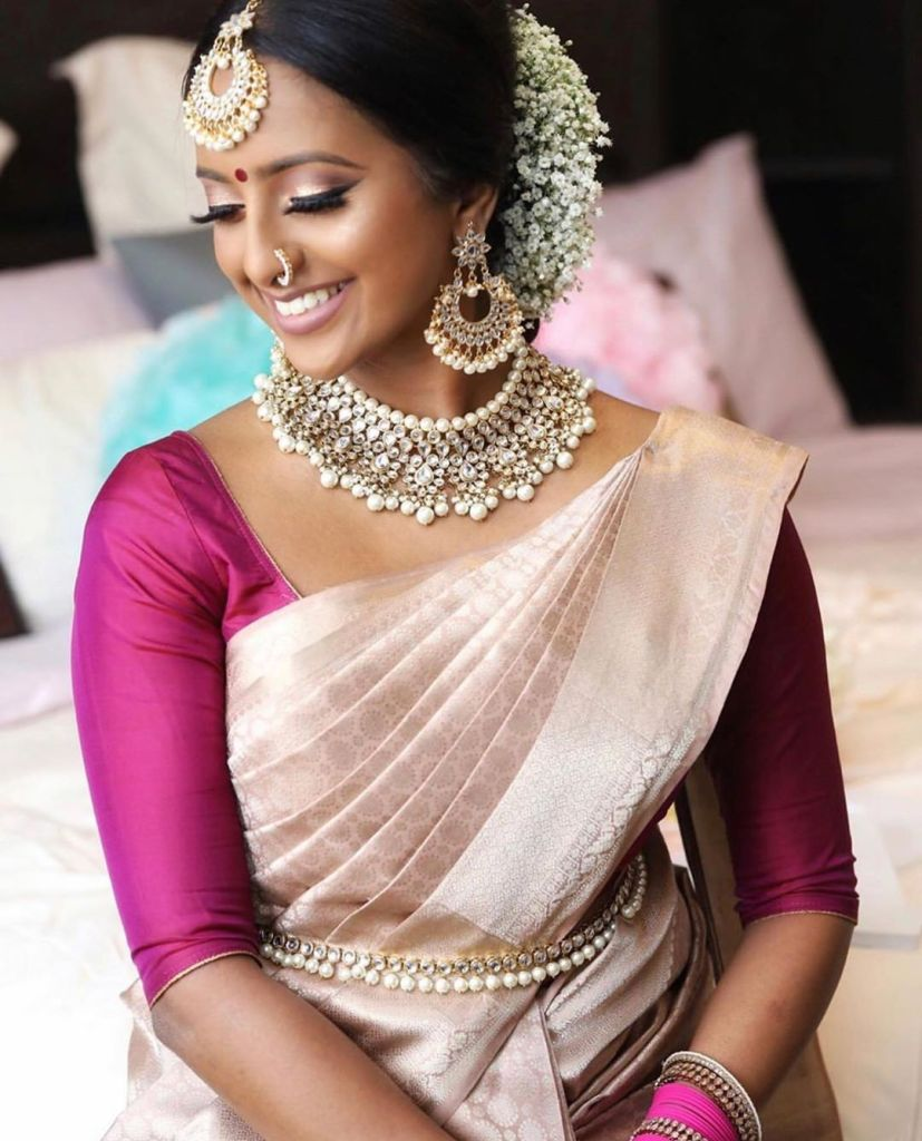 Simple Saree styles
