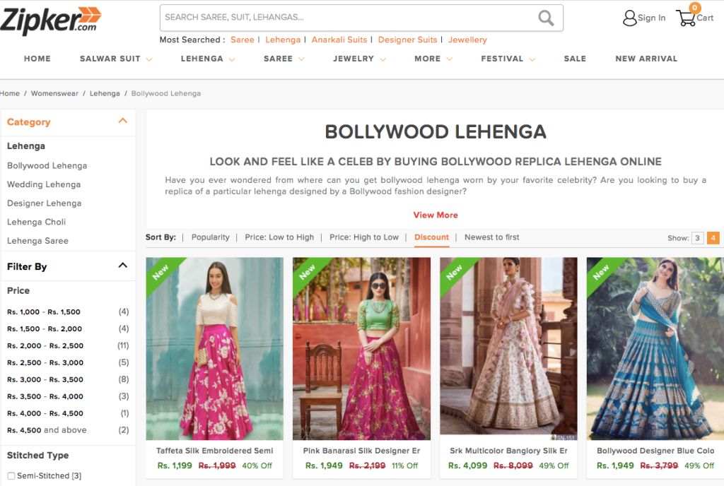 Updated List Of Online Websites You Should Avoid Shopping Indian Wear From Frugal2fab