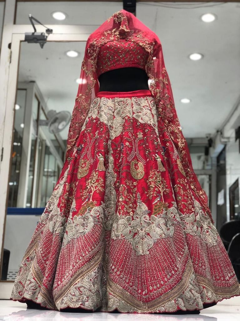 Chandni Chowk Delhi Lehenga Shopping