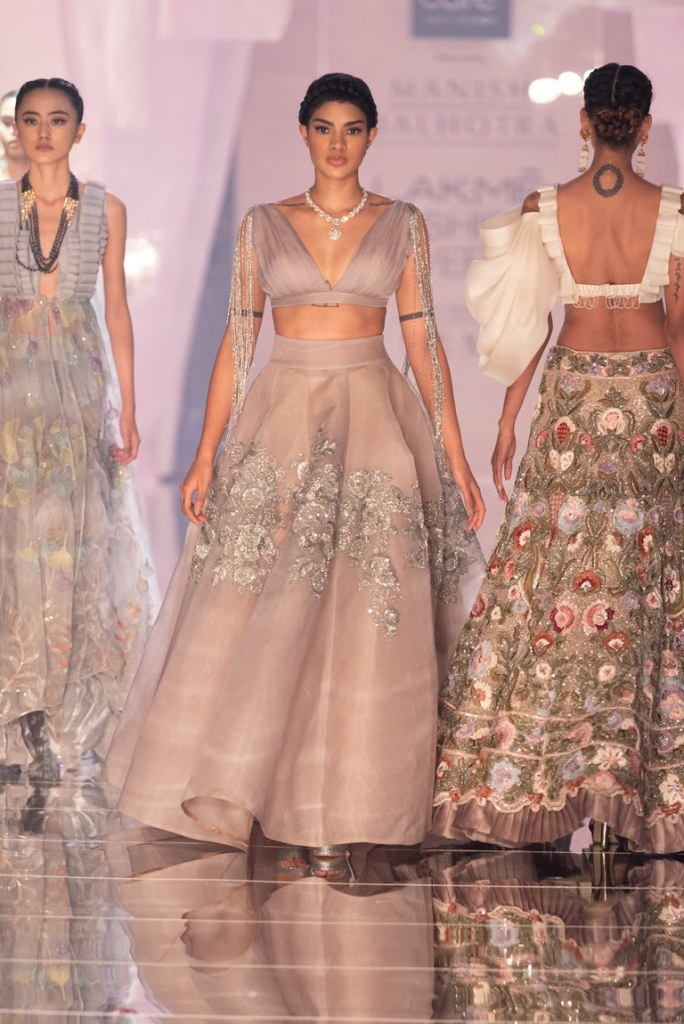 Feather light Manish Malhotra Lehenga