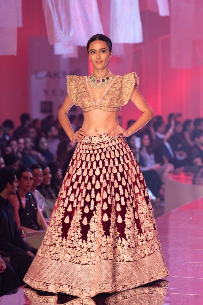 New Manish Malhotra 2019 Lakme Fashion Week Collection Frugal2fab