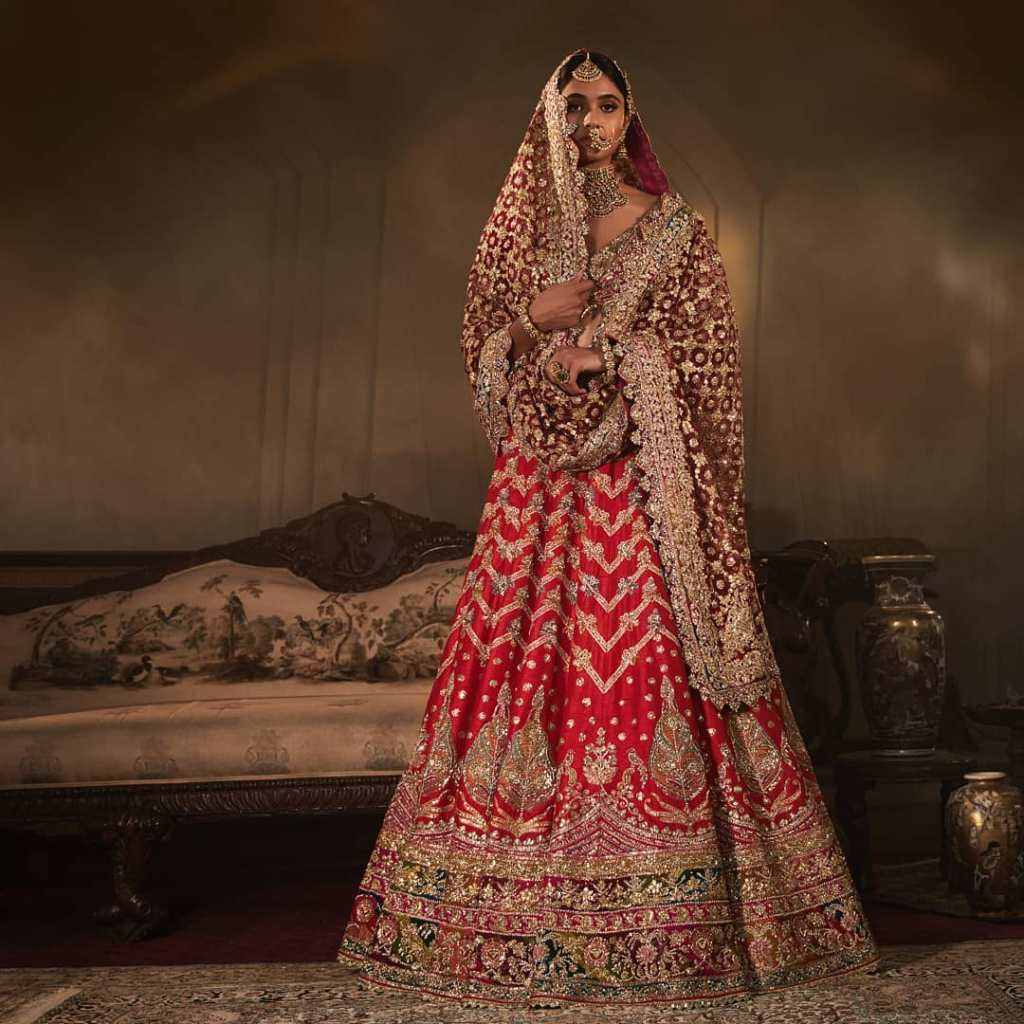 2019 Rimple Harpreet Bridal Lehenga Price