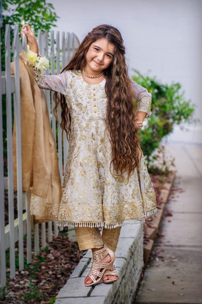 Daughter's Three Piece Stitched Suit
