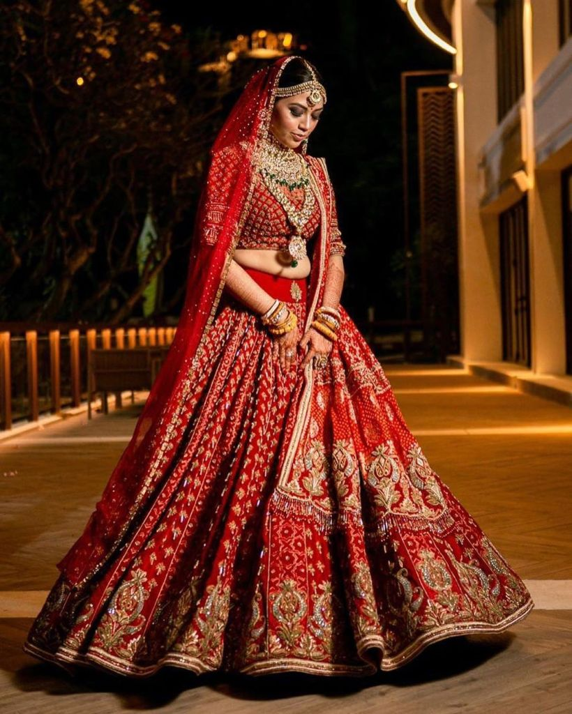 Brides In Tarun Tahiliani Bridal Wear