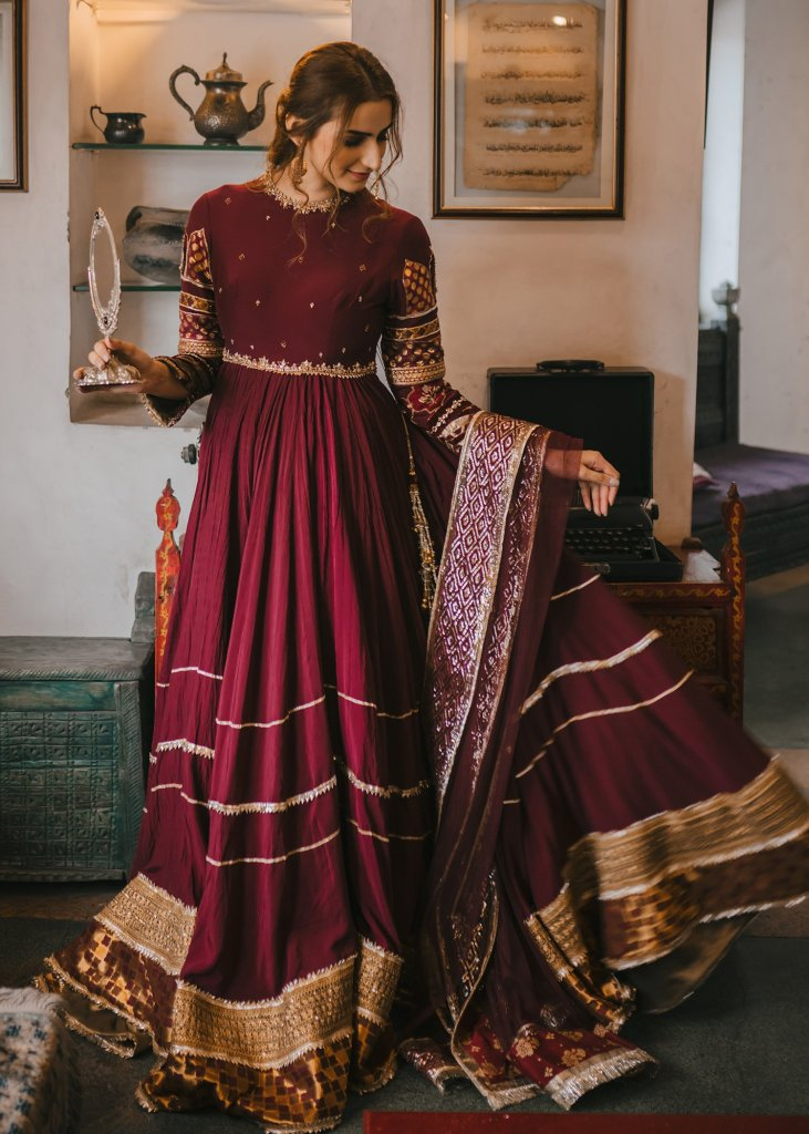 Pakistani Anarkalis For Brides