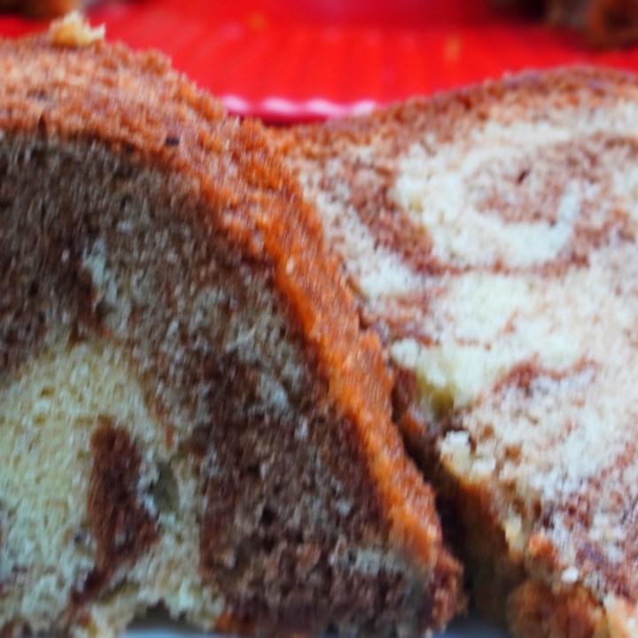 Marbled Pecan Pound Cake