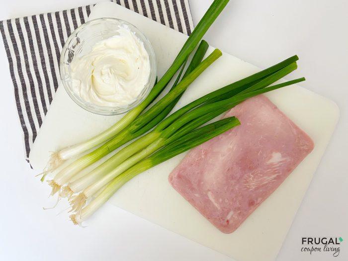 Ham Roll Up Ingredients