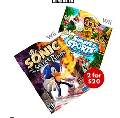 wii sonic