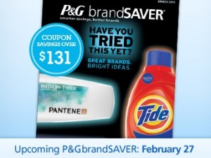 Sunday Coupon Preview P G And Smart Source February 26 2011