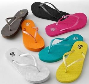Get Women's Flip Flops from Kohls for