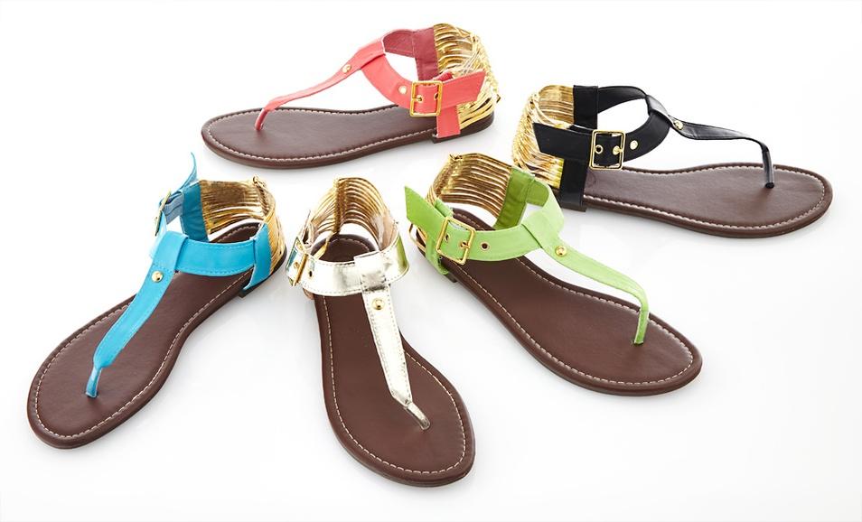 carrini thong sandals