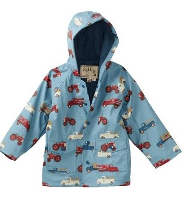farm trucks hatley raincoat