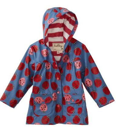 ladybugs raincoat
