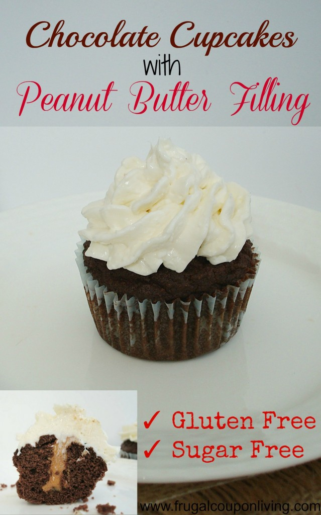 Chocolate-Cupcakes-with-Peanut-Butter-Filling-Frugal-Coupon-Living