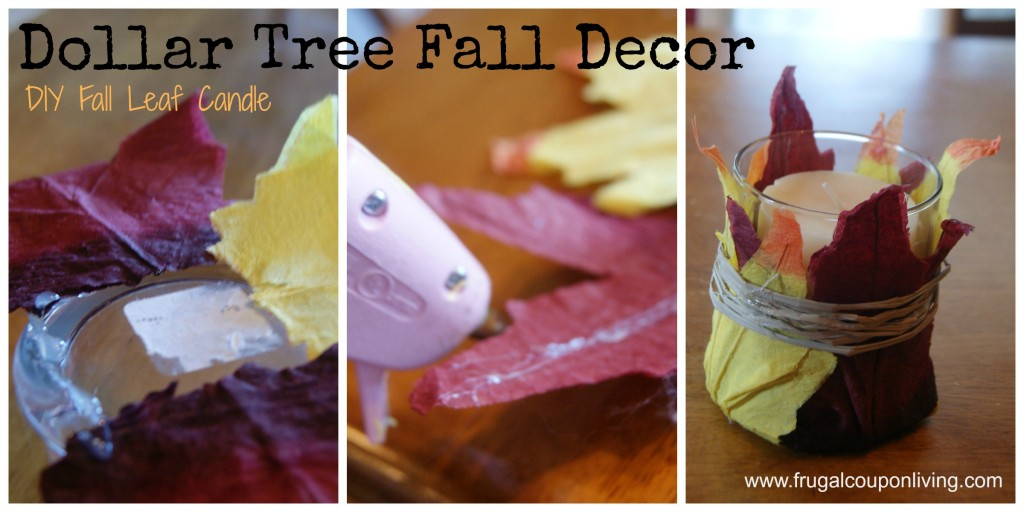 Dollar-tree-fall-decor-leaf-candle-frugal-coupon-living