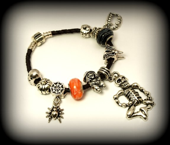 Halloween bracelet pandora