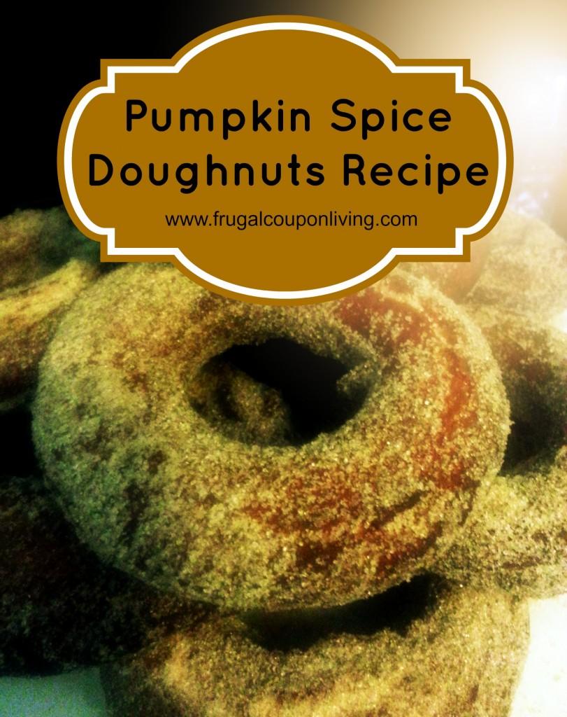 Pumpkin-Spice-doughnuts-recipe-frugal-coupon-living