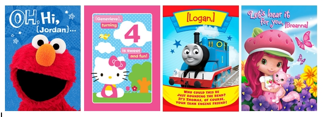cardstore kids cards