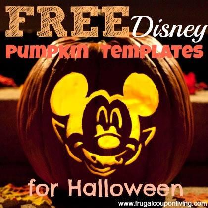 free-disney-pumpkin-templates