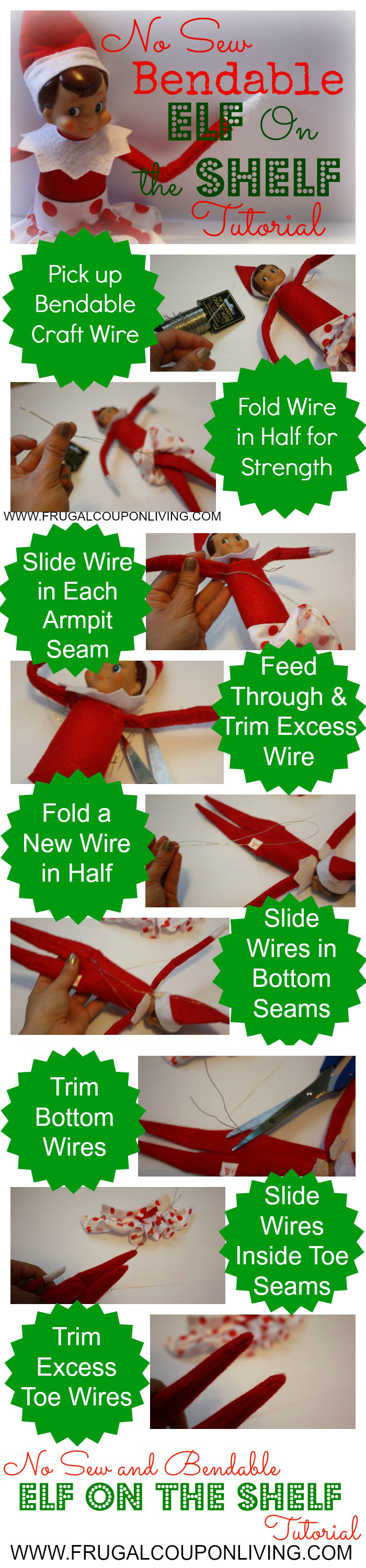 No Sew Elf Bendable Tutorial