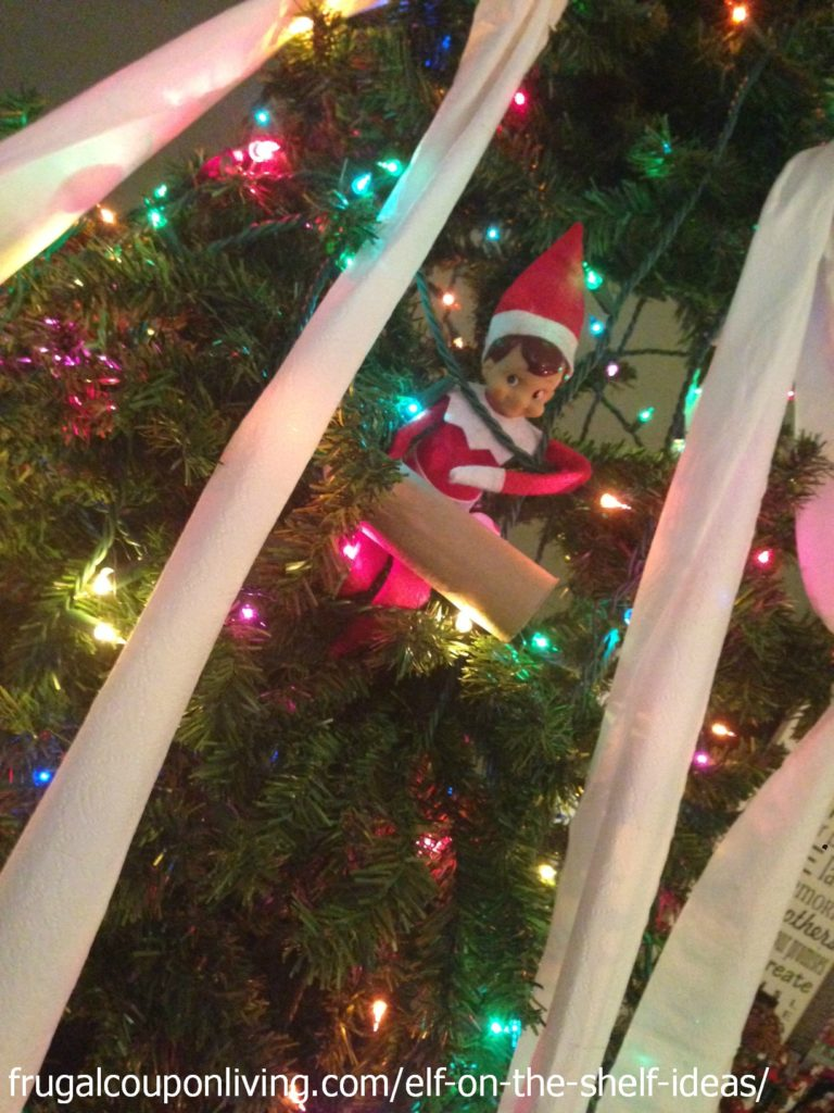 elf-on-the-shelf-ideas-toilet-paper-tree