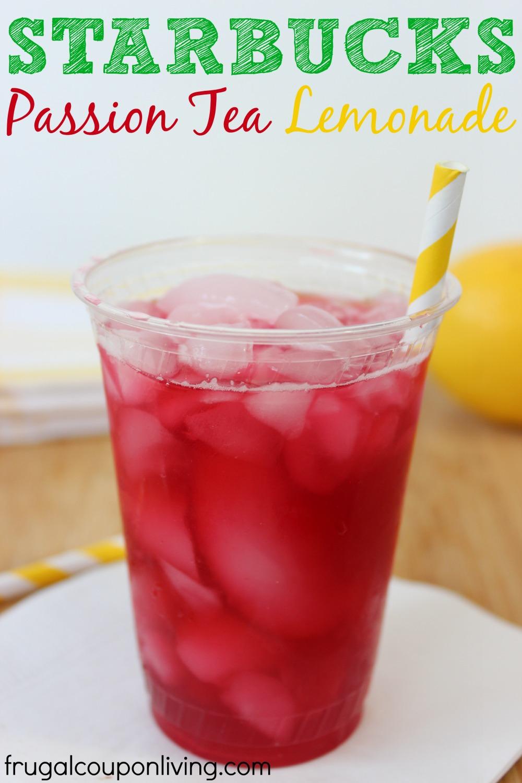 starbucks passion tea lemonade recipe