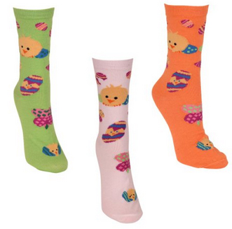 easter sock 3-pk