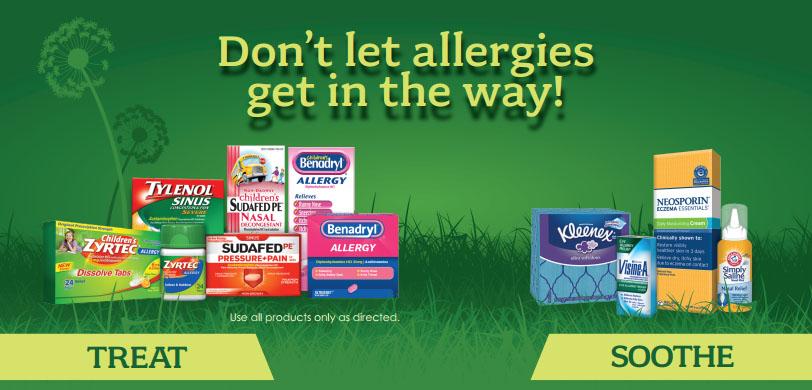 allergy product rebate