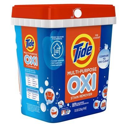 tide laundry detergent bucket