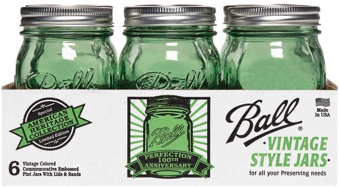 Ball Heritage Collection Jars