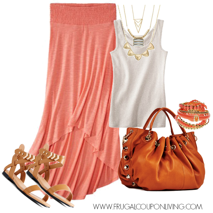 coral-maxi-skirt-outfit-frugal-coupon-living