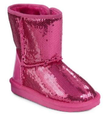 sparkle casual boots