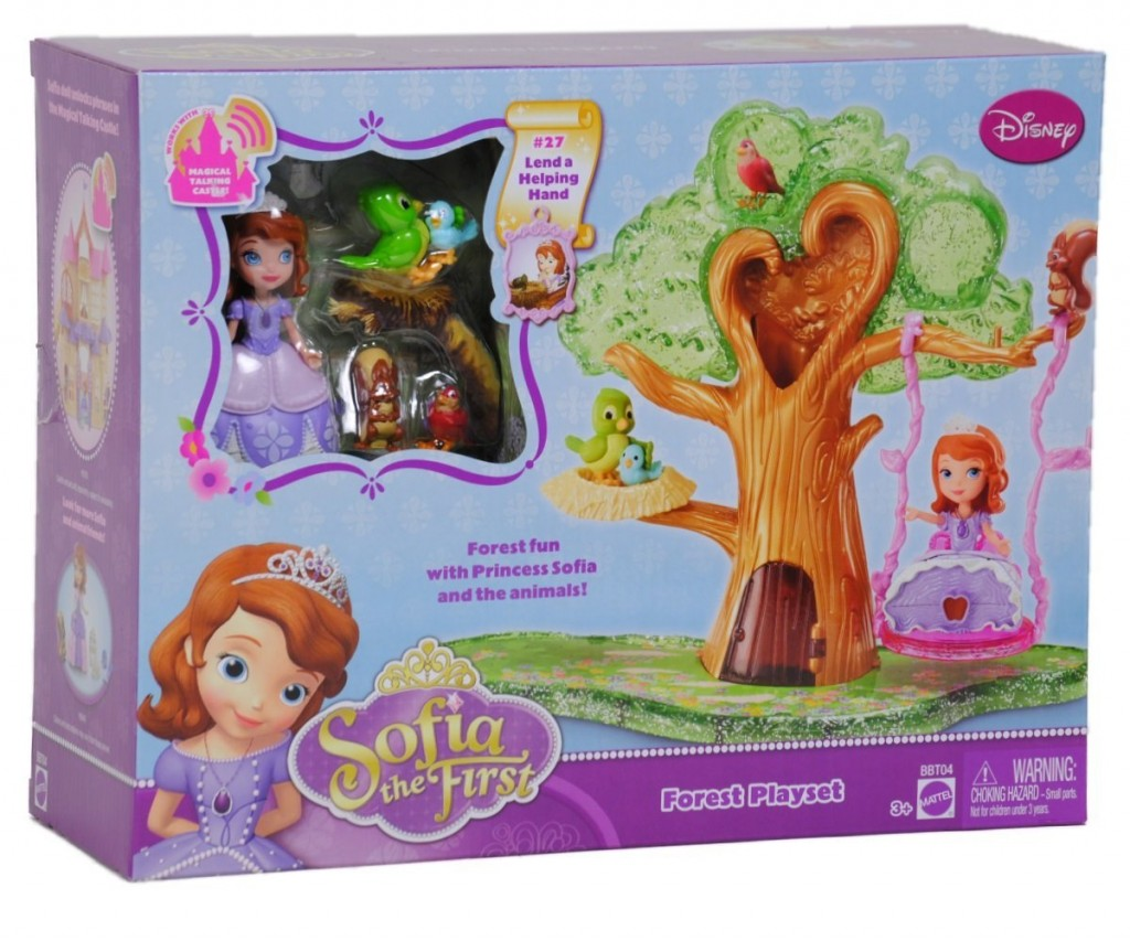 Sofia the First Forest Playset