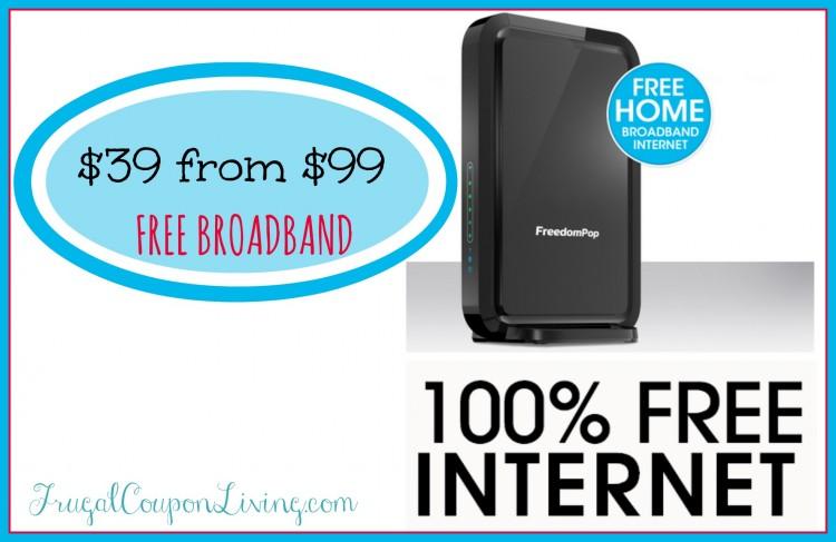 free broadband internet