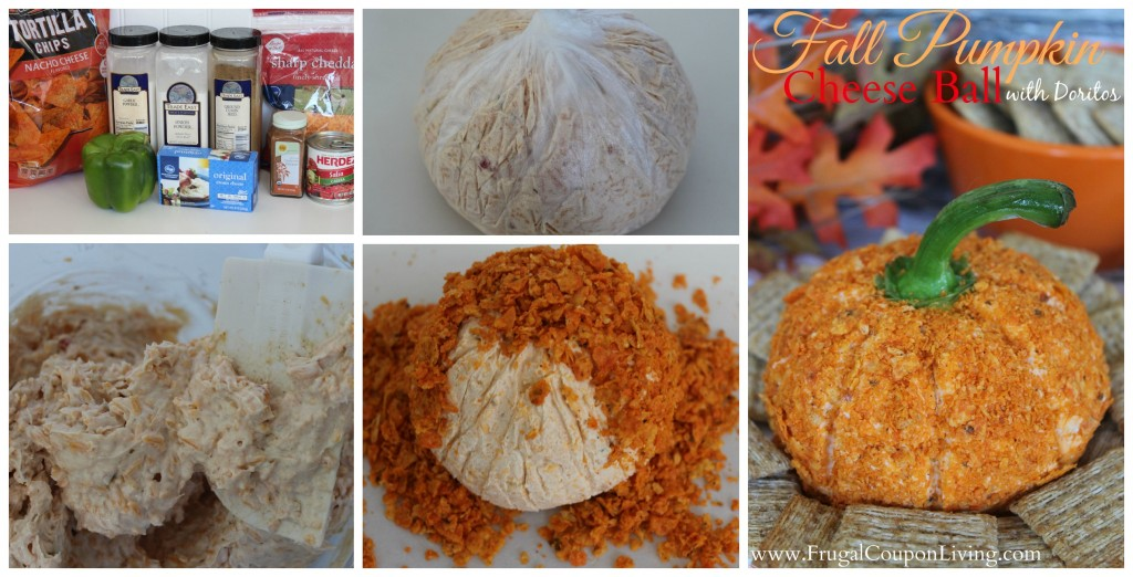 Fall-Pumpkin-Cheese-Ball-Frugal-Coupon-Living-collage
