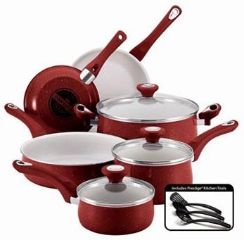 Farberware Aluminum Nonstick Cookware Set
