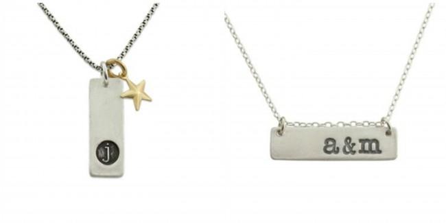 custom initial jewelry