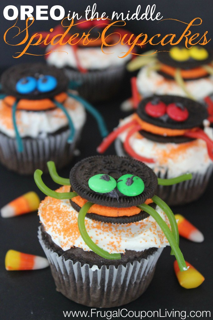 halloween-oreo-spider-cupcakes-frugal-coupon-living