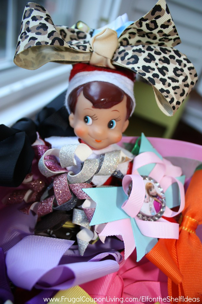 elf-wears-bows-frugal-coupon-living-elf-on-the-shelf-ideas