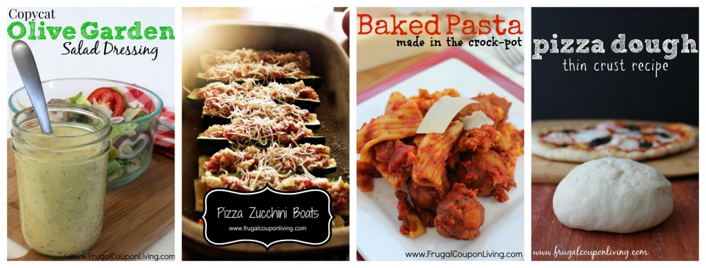 italian-recipe-Collage-dressing-pizza-pasta