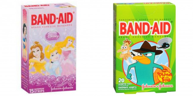 Band-Aid Brand Character Bandages