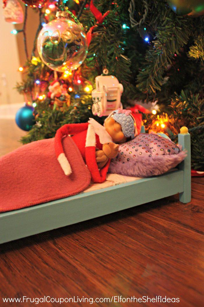 elf-on-the-shelf-ideas-sleeping-elf