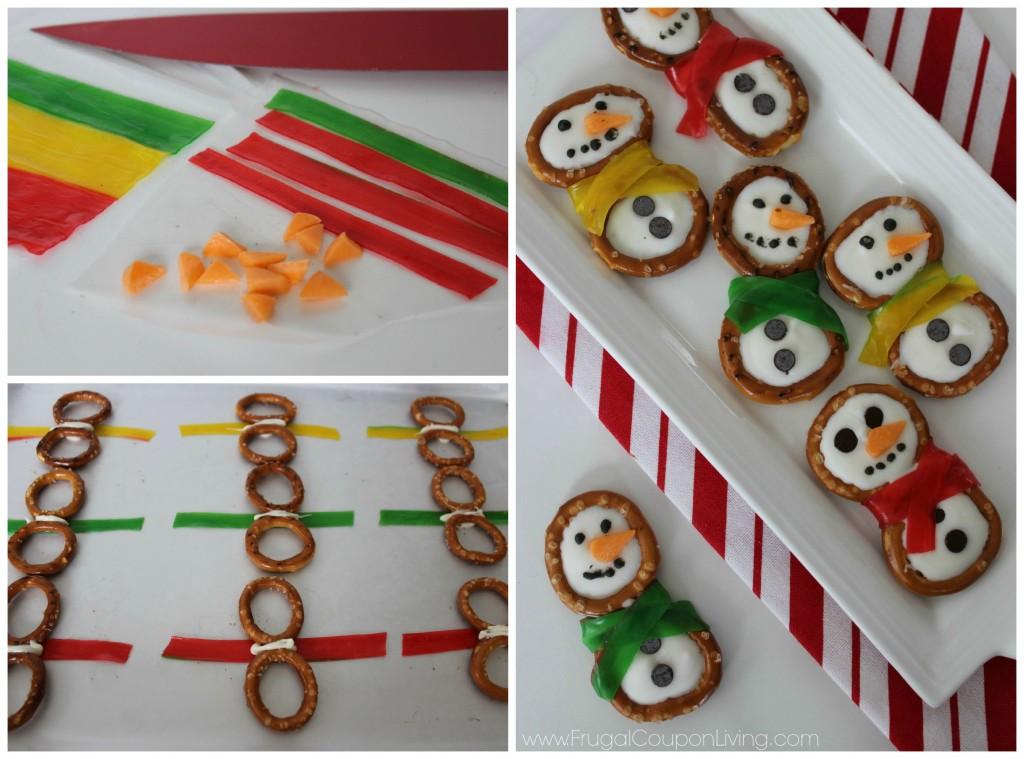 pretzel-snowmen-Collage-frugal-coupon-living