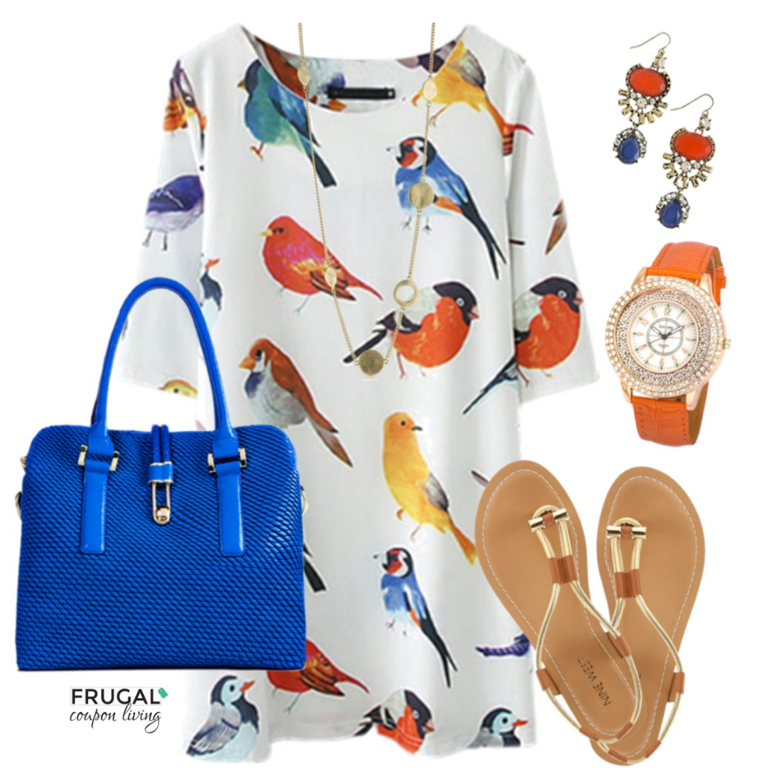 Frugal-Fashion-Friday-Bird-Dress-Outfit-Frugal-Coupon-Living