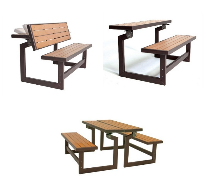 lifetime convertble bench