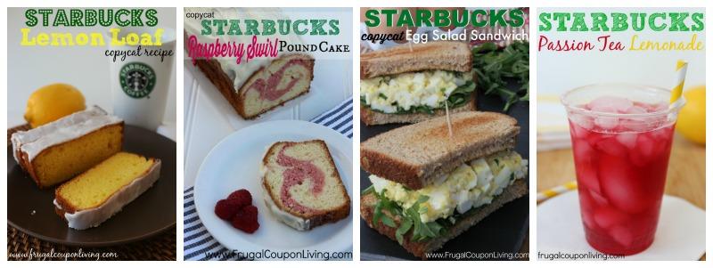 starbucks-copycat-recipes-Collage