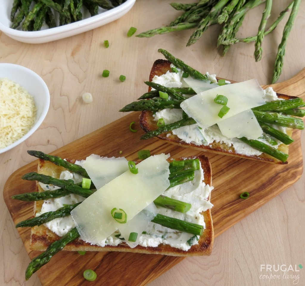 Roasted-Asparagus-Bruschetta-1-frugal-coupon-living